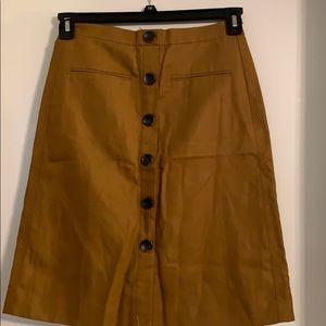 Ann Taylor skirt for fall - new 2Petite